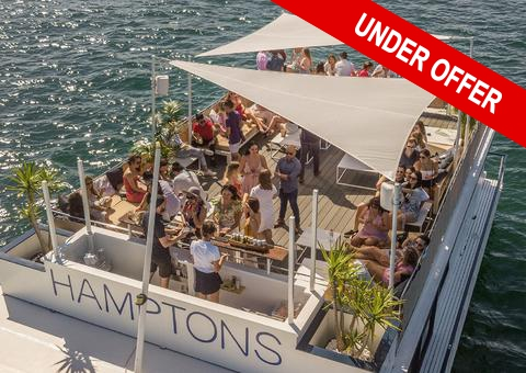 Floating Event Business - Party Boat Business - Pontoon Party Float - Under Offer